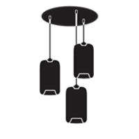 Multi Pendant Canopies