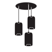 Multi-Pendant-Canopies